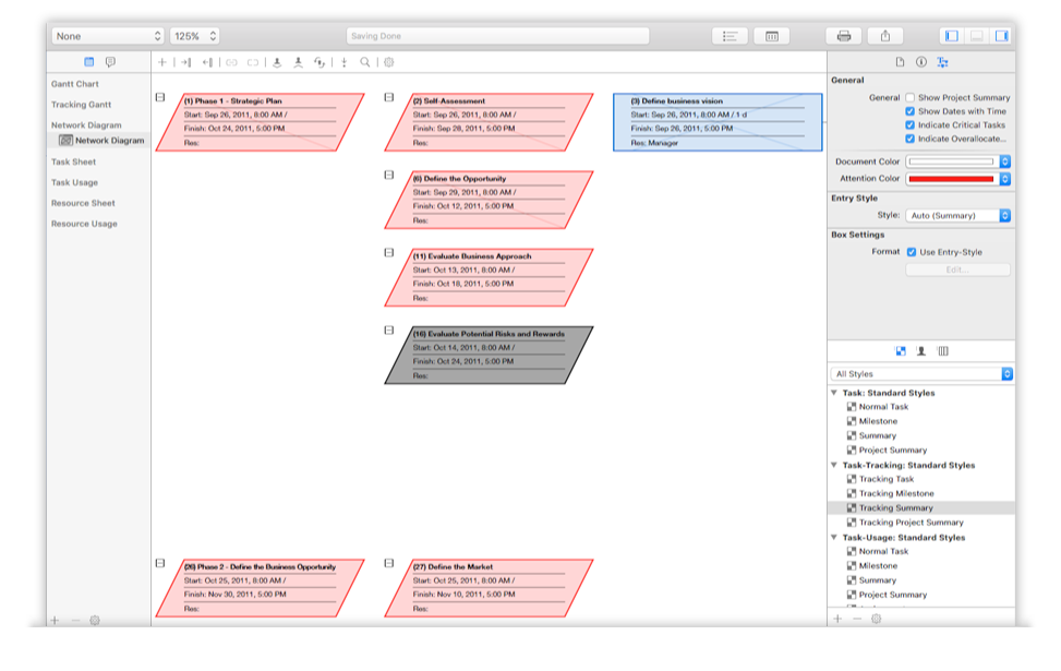 iTaskX - Microsoft Project kompatible Projektmanagement Software für ...